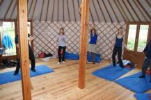 energetische oefeningen in de yurt